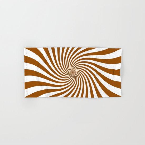 Swirl (Brown/White) Hand & Bath Towel