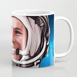 Synthwave Space #25: Gagarin Coffee Mug