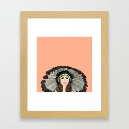 Southwest queen Framed Art Print