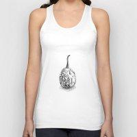 pumpkin Tank Tops featuring Pumpkin by Antonina Sotnikova