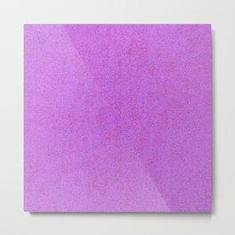 quantum field, violet Metal Print
