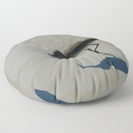 Lunch  At The Beach Floor Pillow