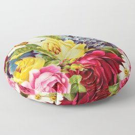 flowers profusion Floor Pillow