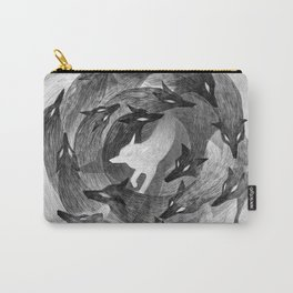 Running With The Wolves Carry-All Pouch
