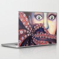 ursula Laptop & iPad Skins featuring Inner Ursula by Lisa Buchfink