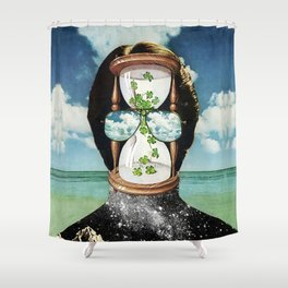 All It Remains - PAINTING Shower Curtain