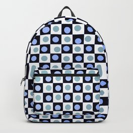Hip to be Square Blue Backpack