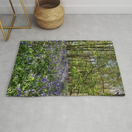 Bluebells Everdon Stubbs Wood Rug
