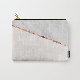 Park Avenue pearl marble Carry-All Pouch