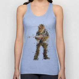 CHEWBACCA STAR . WARS Unisex Tank Top