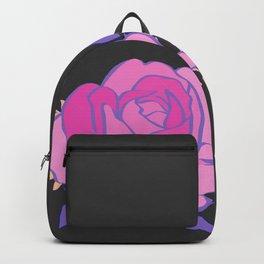 Hard pink Rose Backpack