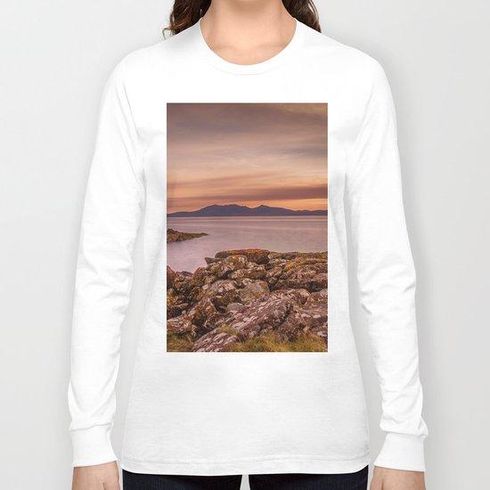 Arran Sunset Long Sleeve T-shirt
