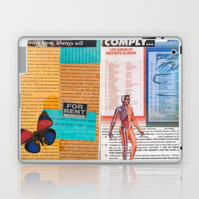 Don't Comply Laptop & iPad Skin by filthywitchphotography