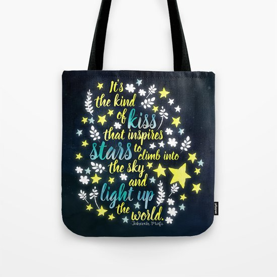 Shatter Me - Stars quote design Tote Bag