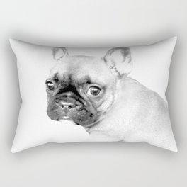 French Bulldog Puppy Rectangular Pillow