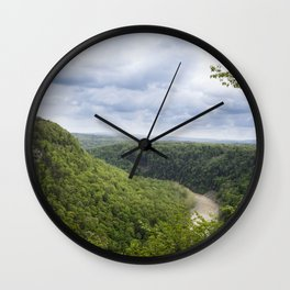 Canyon Springs New - Letchworth Wall Clock