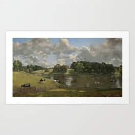 John Constable Wivenhoe Park, Essex 1816 Painting Art Print