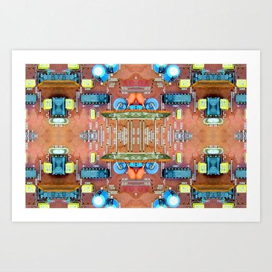 Macho City 003 Art Print