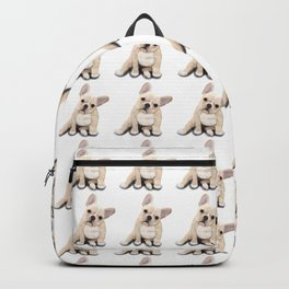 Frenchie pattern Backpack