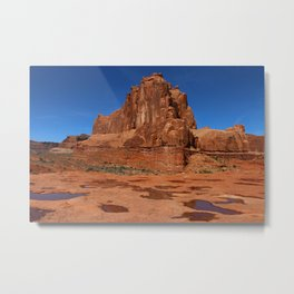 Red Rockformation in Arches NP Metal Print