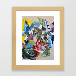 Interact (with your environment) Framed Art Print