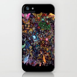 Lil' Marvels iPhone Case