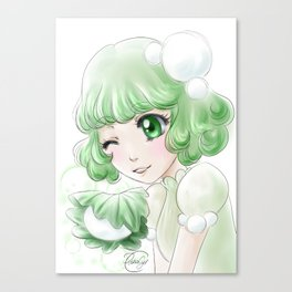 Kashiwa mochi Canvas Print