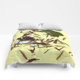 Liquid Pressed Flower Comforters