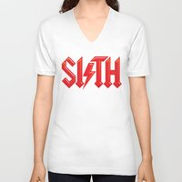 sith V-neck T-shirts featuring SITH by Daniel Sotomayor
