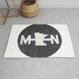 Minnesota Logo MN Rug