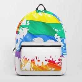 LGBTQ Splatter Backpack