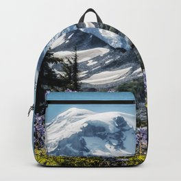 Scenic Art, Mt. Rainier, Mt. Rainier National Park, Spray Park Backpack
