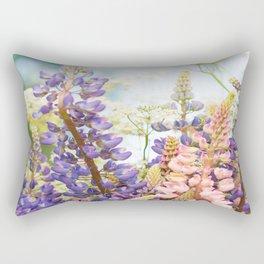 Summer Meadow Bouquet #decor #society6 #homedecor Rectangular Pillow