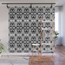 Gray ethnic ornament Wall Mural