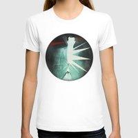 suit T-shirts featuring light suit by Vin Zzep