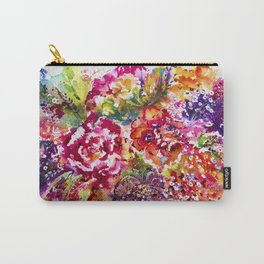 Watercolor Garden II Carry-All Pouch