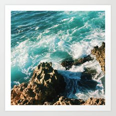 Open Water  Art Print