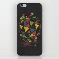 deadmau5 iPhone & iPod Skins featuring Techno by Sitchko Igor