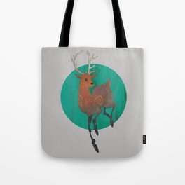Autumn Stag Tote Bag