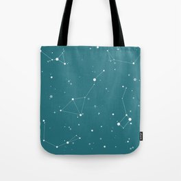 Emerald Night Sky Tote Bag