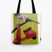 moto Tote Bags featuring MOTO by XA-BCN