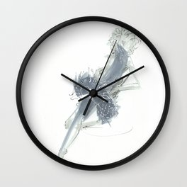 Relax in Grey  Wall Clock
