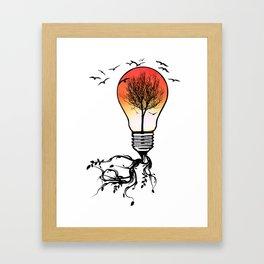 Life Light Framed Art Print