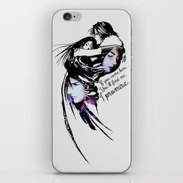 I promise - Rinoa and Squall iPhone Skin