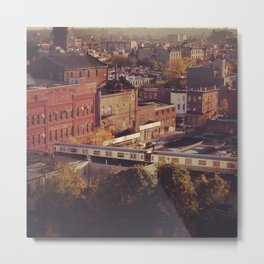 New York Transit Line Metal Print