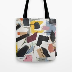 Large Collage With Paint 1 Tote Bag