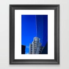 New York Illusion  Framed Art Print