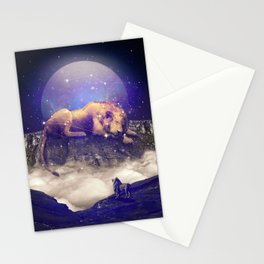 Under the Stars III (Leo) Stationery Cards