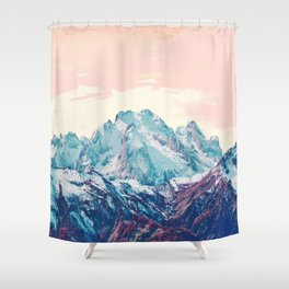 Memories of a sky palette Shower Curtain