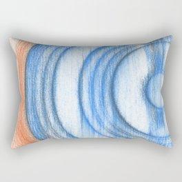 vinyl scratches Rectangular Pillow